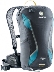 Bikebackpack Race 8 grey-turquoise