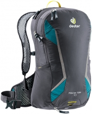 Bikebackpack Race Air 10 grey-turquoise
