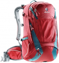 Bikebackpack Trans Alpine 30 red-blue