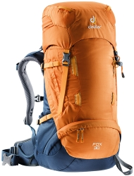 Kidsbackpack Fox 30 orange-blue