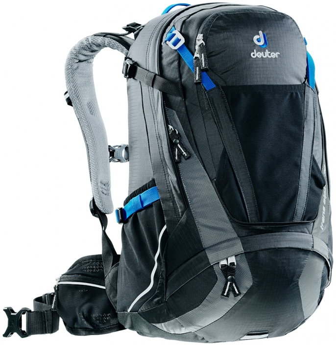 Bikebackpack Trans Alpine 30 black-grey